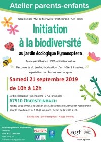 Atelier parents-enfants : Initiation à la biodiversité